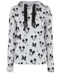 Damen Hoodie mit Mickey Mouse-Print