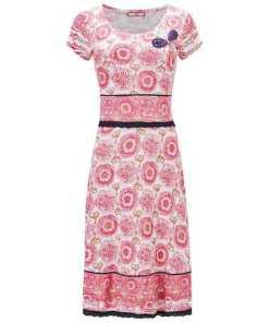 Joe Browns Etuikleid »Kurzí¤rmliges Jerseykleid mit Blumenstickerei«