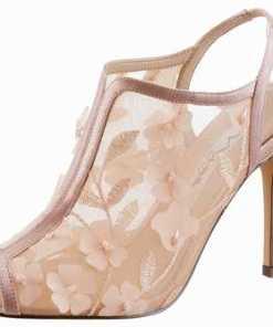 Nina »Meggin« High-Heel-Sandalette mit verspielter Blütenapplikation
