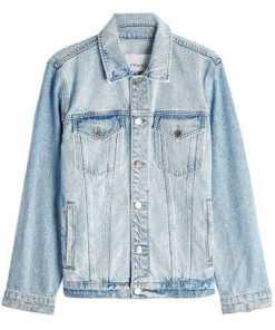 Frame Denim Jeansjacke aus Baumwolle