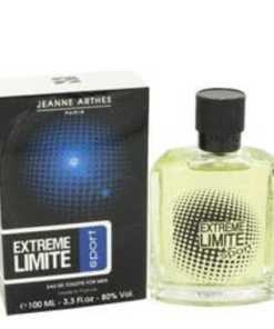 Extreme Limite Sport Cologne by Jeanne Arthes, 100 ml Eau De Toilette Spray for Men