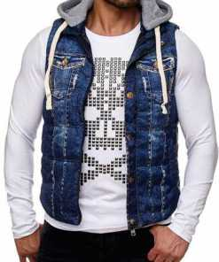 REDBRIDGE Herren Weste in Denim-Optik