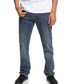 Quiksilver Regular Fit Stretch-Jeans »Sequel Medium Blue«