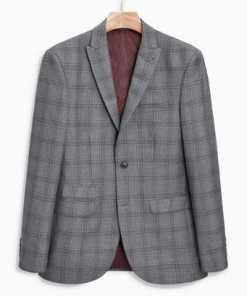Next Anzug mit Karomuster: Sakko