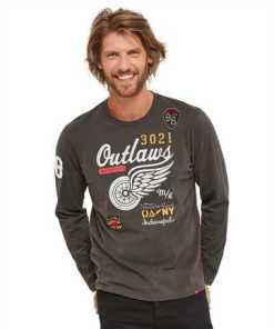 Joe Browns T-Shirt »Joe Browns Herren T-Shirt mit Outlaws-Print«