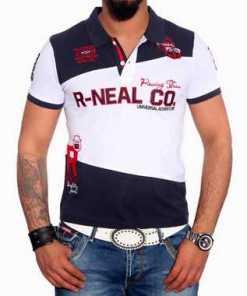 Rusty Neal Poloshirt mit stylischem Print »6686«