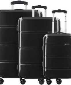 CHECK.IN® Paris 3.0 4-Doppelrollen Kofferset 3tlg.