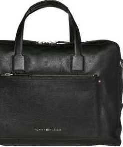 Tommy Hilfiger Handtasche »SOFT LEATHER COMPUTER BAG«