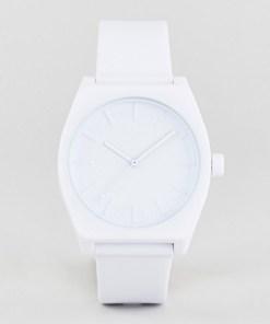 Adidas - Z10 Process - Armbanduhr aus Silikon in Weiß - Weiß