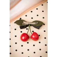 60s Put Some Cherries in Your Hair Clip