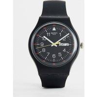 Swatch - SUOB724 Yokorace - Schwarze Armbanduhr - Schwarz