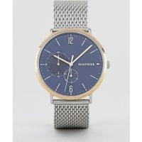 Tommy Hilfiger - Brooklyn - Uhr mit Netzarmband aus verschiedenen Metallen