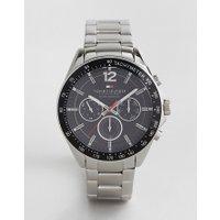Tommy Hilfiger - 1791104 Luke - Uhr mit silbernem Armband - Silber