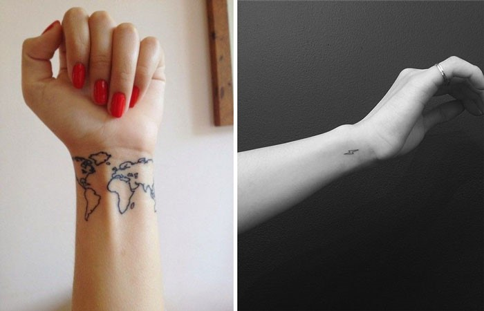 Handgelenk Tattoos Stylishcircle Deutschland