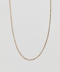 ASOS DESIGN - Goldfarbene Halskette im Vintage-Stil - Gold