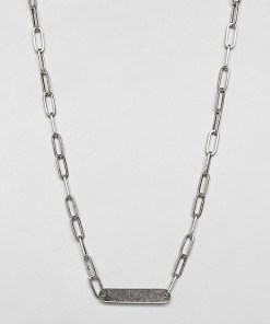 DesignB - ID-Halskette aus Sterlingsilber
