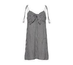 BILLABONG Sommerkleid schwarz / weiß