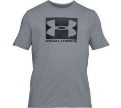 UNDER ARMOUR Herren Shirt UA Boxed Sportstyle - grau M