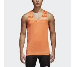 adidas Performance Sporttop »Adizero Singlet«, orange