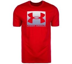 UNDER ARMOUR T-Shirt 'BOXED SPORTSTYLE' rot