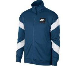 Nike Sportswear Sweatjacke blue denim / weiß