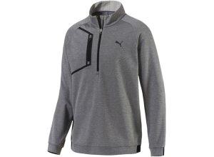 PUMA Sweatshirt grau / schwarz