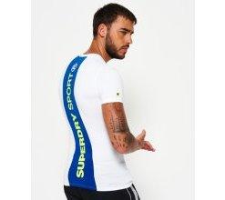 Superdry Sports Athletic T-Shirt mit Einsatz