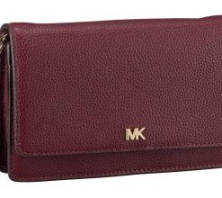 Michael Kors Umhängetasche Mercer Phone Crossbody Oxblood