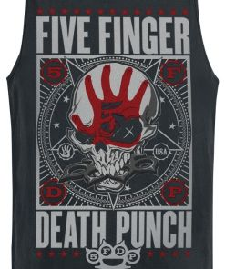Five Finger Death Punch Punchagram Tank-Top schwarz