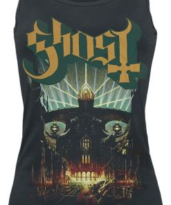 Ghost Meliora Girl-Top schwarz