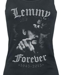 Motörhead Lemmy - Forever Girl-Top schwarz