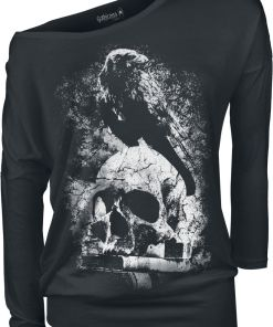 Gothicana by EMP Fast And Loose Girl-Longsleeve schwarz