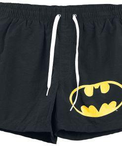 Batman Logo Badeshorts schwarz