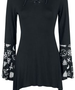 Gothicana by EMP Bat Country Girl-Longsleeve schwarz