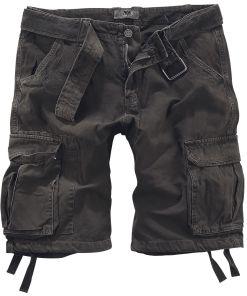 Black Premium by EMP Army Vintage Shorts Vintage Shorts braun