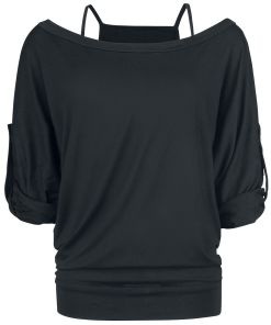 Gothicana by EMP Busting Loose Girl-Longsleeve schwarz