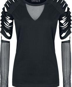 Gothicana by EMP Days Without Girl-Shirt schwarz