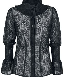 Gothicana by EMP Mary Louise Girl-Hemd schwarz
