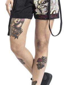 Iron Maiden EMP Signature Collection Girl-Shorts schwarz