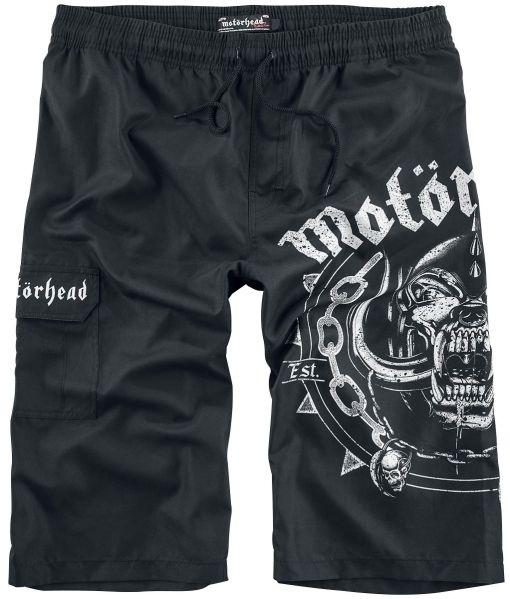 Motörhead EMP Signature Collection Badeshorts schwarz