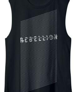 Linkin Park Rebellion Muskelshirt schwarz