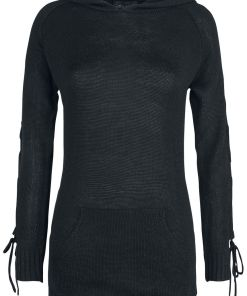 Gothicana by EMP Honesty Is No Excuse Girl-Sweat-Shirt schwarz