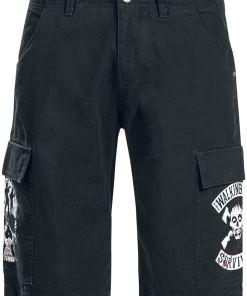 The Walking Dead Survivor Cargo-Shorts schwarz