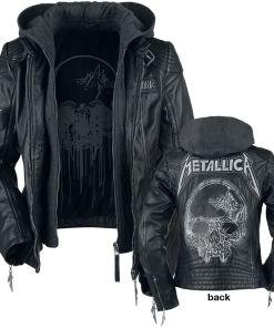 Metallica EMP Signature Collection Girl-Lederjacke schwarz