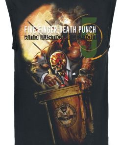 Five Finger Death Punch And justice for none Tank-Top schwarz