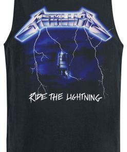 Metallica Ride The Lightning Tank-Top schwarz