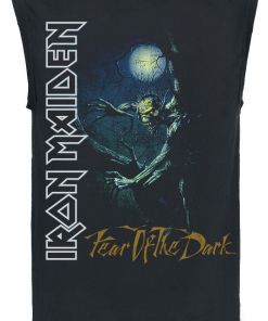 Iron Maiden FOTD Tree Spine Tank-Top schwarz