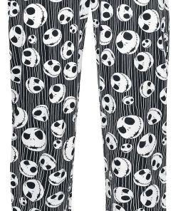 The Nightmare Before Christmas Jack Skulls Pyjama-Hose schwarz