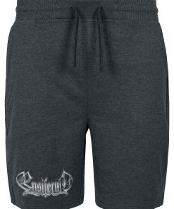 Ensiferum Logo Shorts charcoal