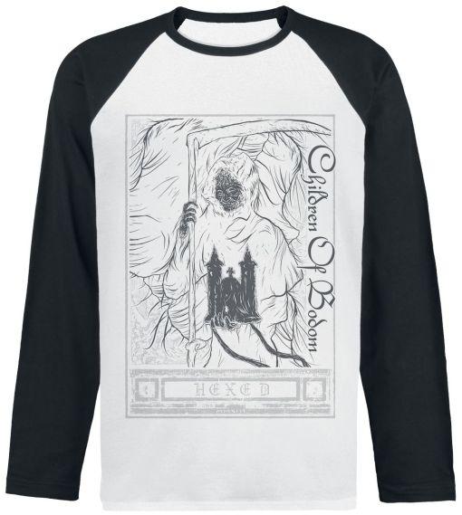 Children Of Bodom Hexed Baseball-Shirt schwarz/weiß
